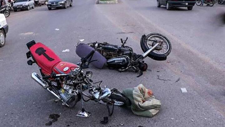 تصادف مرگبار دو موتور سیکلت / شب گذشته در بزرگراه شهید بابایی اتفاق افتاد