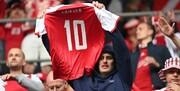 مصدومیت دلخراش اریکسن همبستگی در فوتبال را به رخ کشید +تصاویر