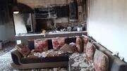 معجزه در نجات کودک 6 ساله / انفجار بر اثر نشت گاز از سیلندر 11 کیلویی