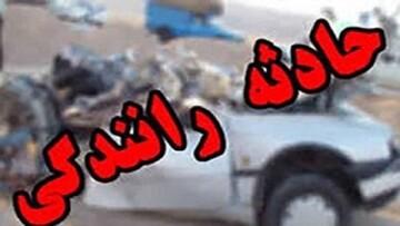 واژگونی مرگبار کوییک در سمنان / ۶ کشته و مصدوم برجای گذاشت