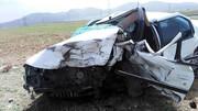 تصادف مرگبار در خوزستان / پژو لوله شد