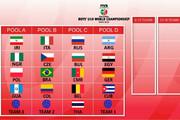 تیم والیبال نوجوانان ایران حریفان خود را شناخت