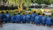 بازداشت 21 سارق با 71 سرقت / اجازه جولان به هنجارشکنان داده نمی شود + عکس