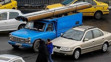 خواب آلودگی راننده نیسان حادثه آفرید / صبح امروز در تهران رخ داد