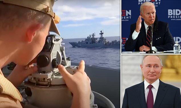 پوتین قدرت خود را برای آمریکا به نمایش گذاشت!