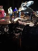 تصادف مرگبار و وحشتناک در رشت / بامداد امروز اتفاق افتاد + فیلم و عکس