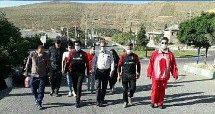 اجرای طرح پیادهروی عمومی در دماوند