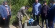 افتتاح طرح آبیاری تجمیعی کمفشار در روستاهای فیروزکوه