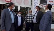بازدید فرماندار و اعضای شورای تامین پردیس از ستادهای انتخاباتی