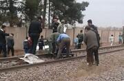 مهاجم سابق پرسپولیس در برخورد با قطار جان باخت