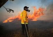 آتش سوزی در مزارع صهیونیستی