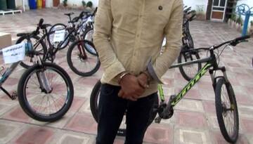 دستگیری سارقان دوچرخه حین ارتکاب جرم! / در ابوسعید رخ داد