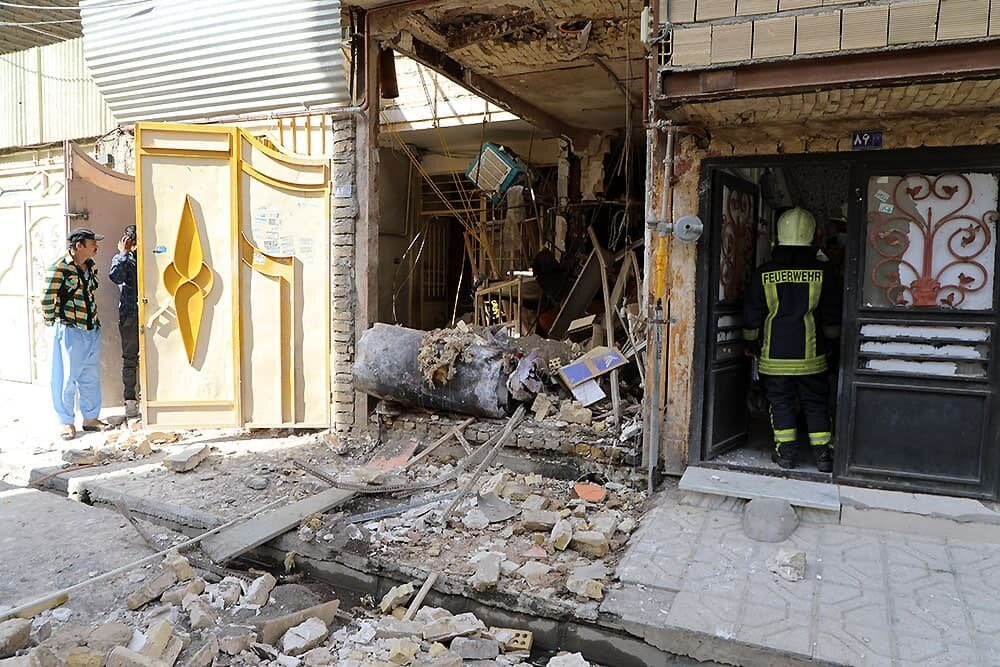 انفجار دیگ بخار اتو بخار تولیدی لباس در مشهد