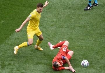 پیروزی سخت اوکراین مقابل مقدونیه شمالی