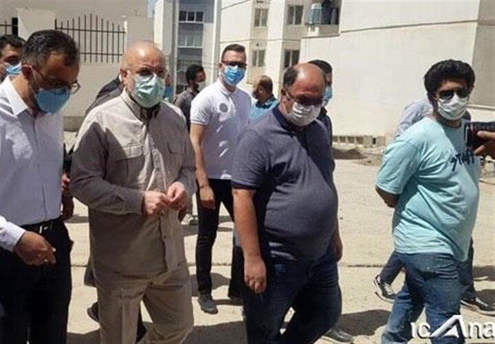 قالیباف سرزده از فاز ۸ شهر پردیس بازدید کرد