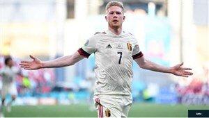 پیروزی بلژیک با دو گل جذاب پلیاستیشنی /عکس