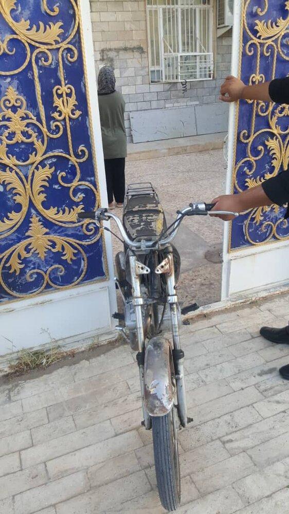 دستگیری سارق تجهیزات پزشکی در آبادان