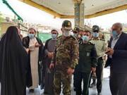 حضور پرشور مردم فیروزکوه در پای صندوقهای رای