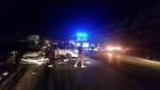 تصادف زنجیره ای در جاده چالوس / بامداد جمعه اتفاق افتاد