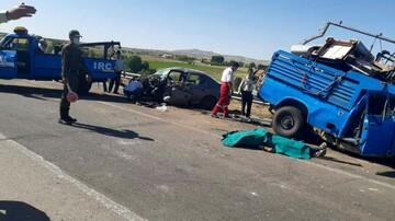 تصادف مرگبار در شهرستان بستان آباد/ صبح جمعه رخ داد