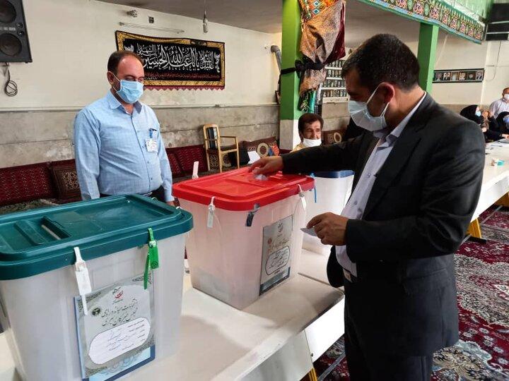 تاکنون تخلفی در روند برگزاری انتخابات فیروزکوه گزارش نشده است/81 شعبه اخذ رای در فیروزکوه