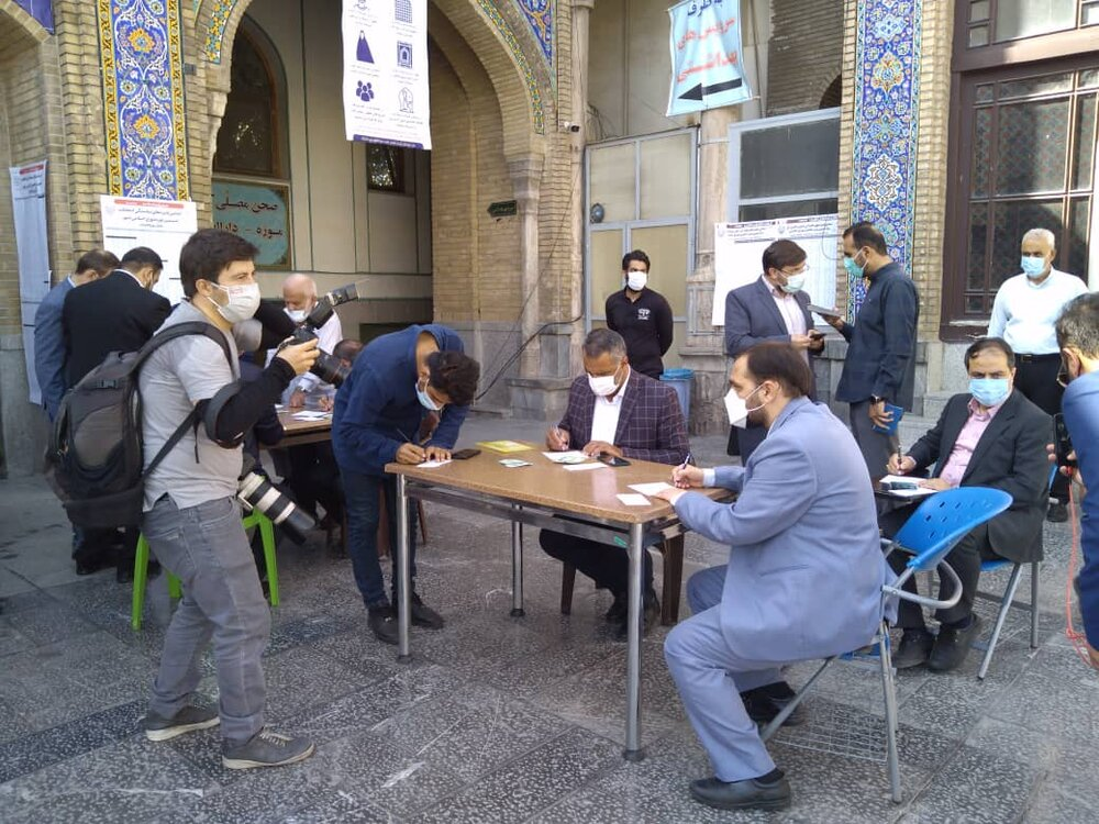 حضور پرشور شهروندان شهر ری در انتخابات