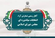 آغاز فرآیند شمارش آراء انتخابات میان دورهای مجلس شورای اسلامی