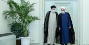 روحانی به دیدار رئیسی رفت