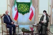 دیدار قالیباف با رئیسجمهور منتخب
