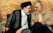 سید ابراهیم و حاج قاسم در یک قاب + عکس