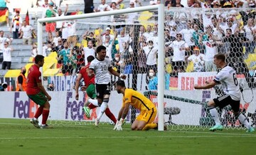 «رونالدو»نتوانست آلمان را شکست دهد!