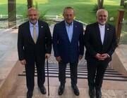 آغاز نشست سه جانبه وزرای خارجه ایران افغانستان و ترکیه