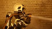 آتش سوزی مهیب در خیابان جمهوری