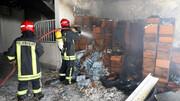 آتش سوزی مهیب آپارتمان در مشهد / 21 نفر گرفتار در آتش