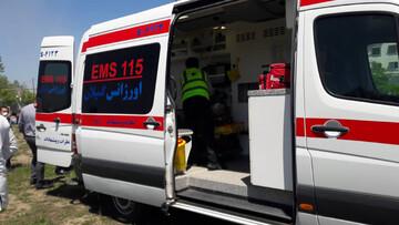 تصادف زنجیره ای خونین در گیلان / 7 نفر راهی بیمارستان شدند