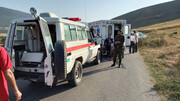 ۲ مصدوم در پی تصادف شدید در چهاردانگه / روز گذشته رخ داد + عکس ها