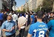 تجمع اعتراضی هواداران استقلال علیه وزارت ورزش
