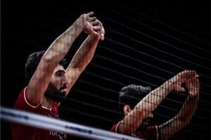 ترکیب تیم ملی والیبال در مصاف با لهستان