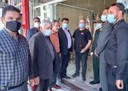 مسوولان به دیدار اصناف شهرستان فیروزکوه رفتند