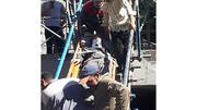 سقوط از ارتفاع کارگر جوان را به شدت مجروح کرد + عکس