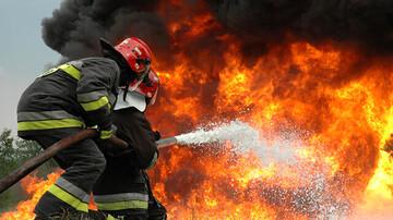 ۱۴ عملیات مهار آتش سوزی و امداد و نجات در یک روز