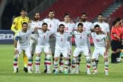 ملی پوشان ایران نتیجه تلاش هایشان را دیدند