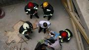 سقوط مرگبار مرد مراغه ای از داربست !/ صحنه ای دردناک