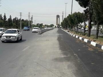 تاثیرات مثبت اصلاح هندسی میدان نماز در کاهش بار ترافیک ورودی شهر