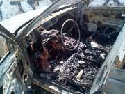خودروسواری جزغاله شد !/ سوختگی شدید راننده آردی