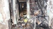 آتش سوزی هولناک ۳ طبقه خانه قدیمی + عکس ها