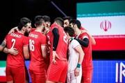 اعلام ترکیب اصلی تیم ملی والیبال