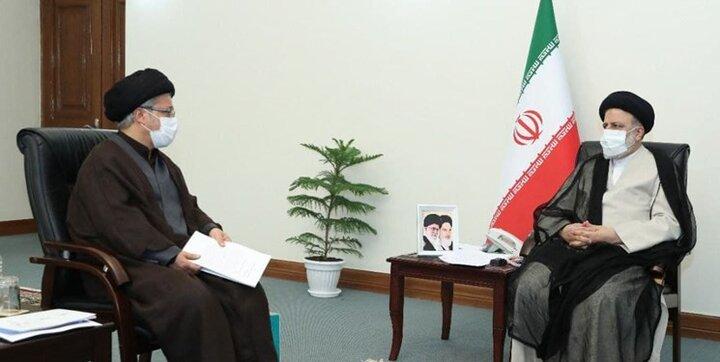 دیدار رئیس دفتر رئیس جمهور با آیت الله رئیسی