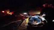 سقوط از ارتفاع جان نقشه بردار معدن را به خطر انداخت! + عکس