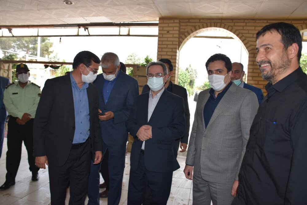 حضور وزیر راه در شهرستان ملارد
